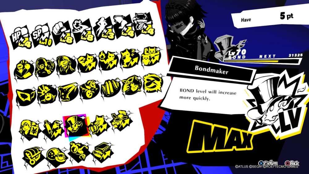 Best Persona 5 Strikers Bond Abilities