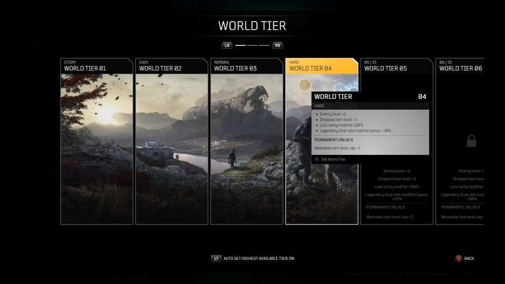 outriders demo world tier