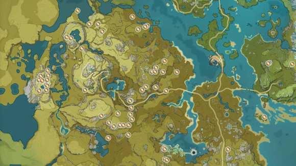 Genshin Impact Cor Lapis Locations