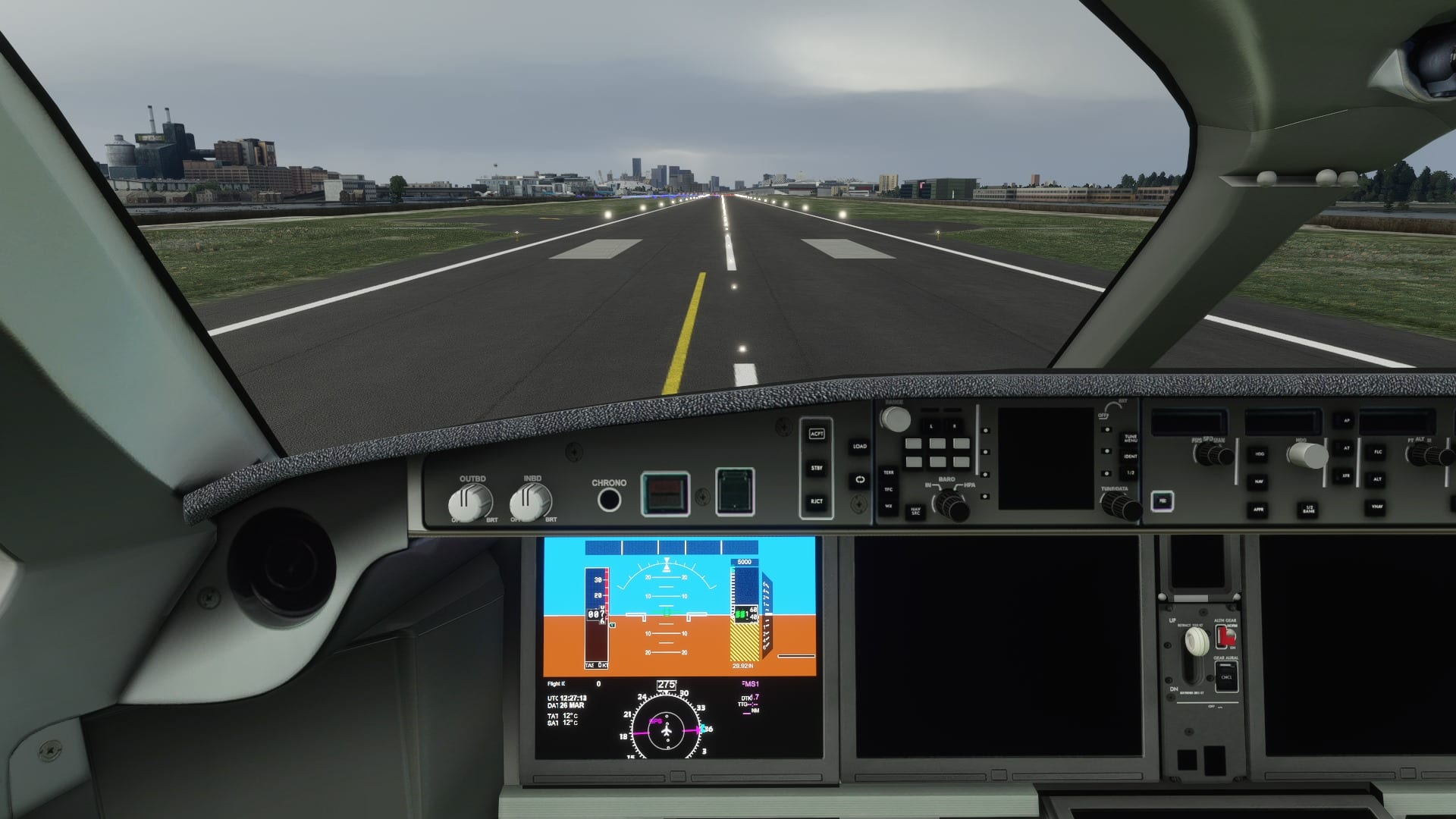 Microsoft Flight Simulator A220