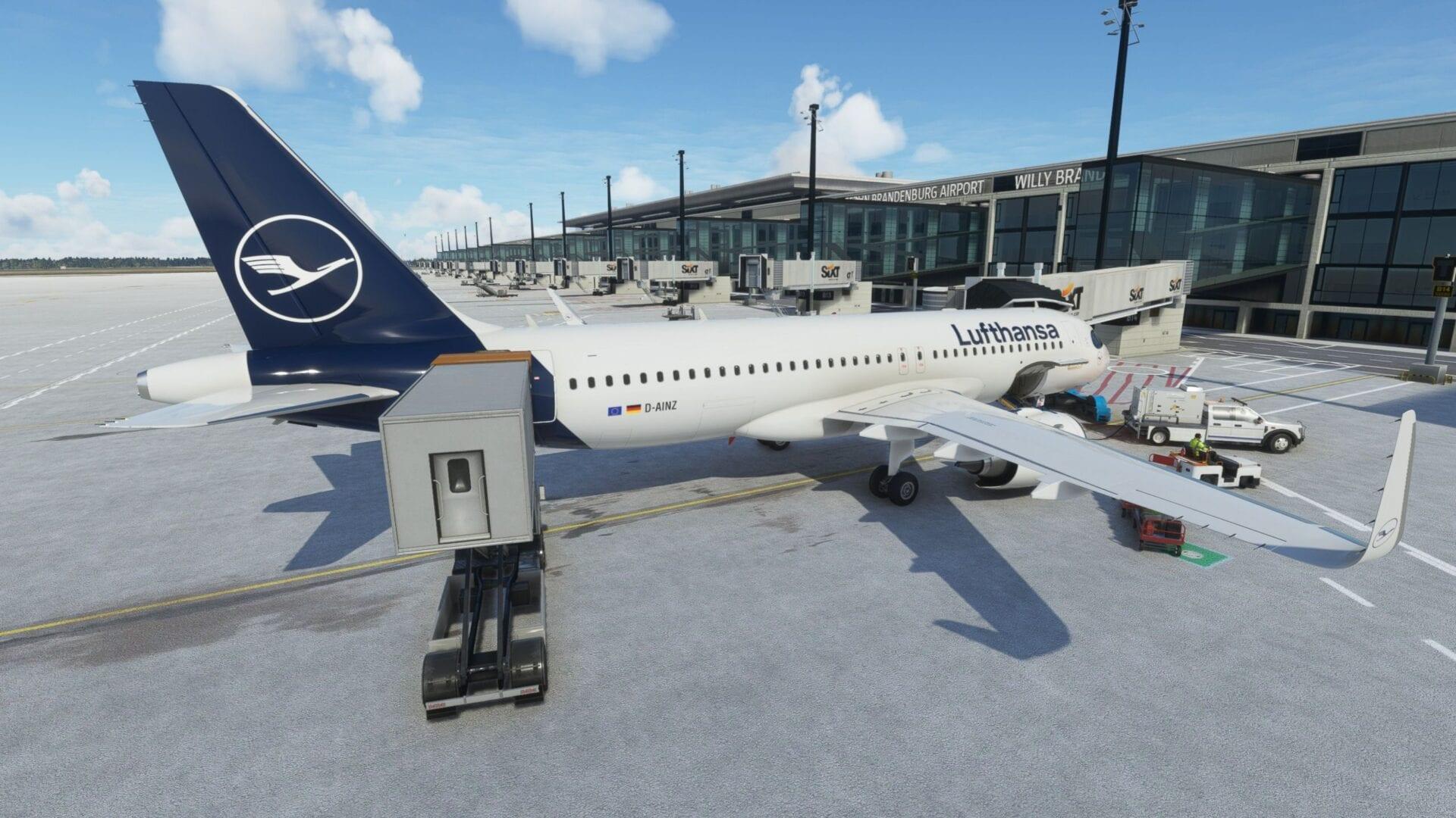 Berlin Brandenburg Airport for Microsoft Flight Simulator Critic Review