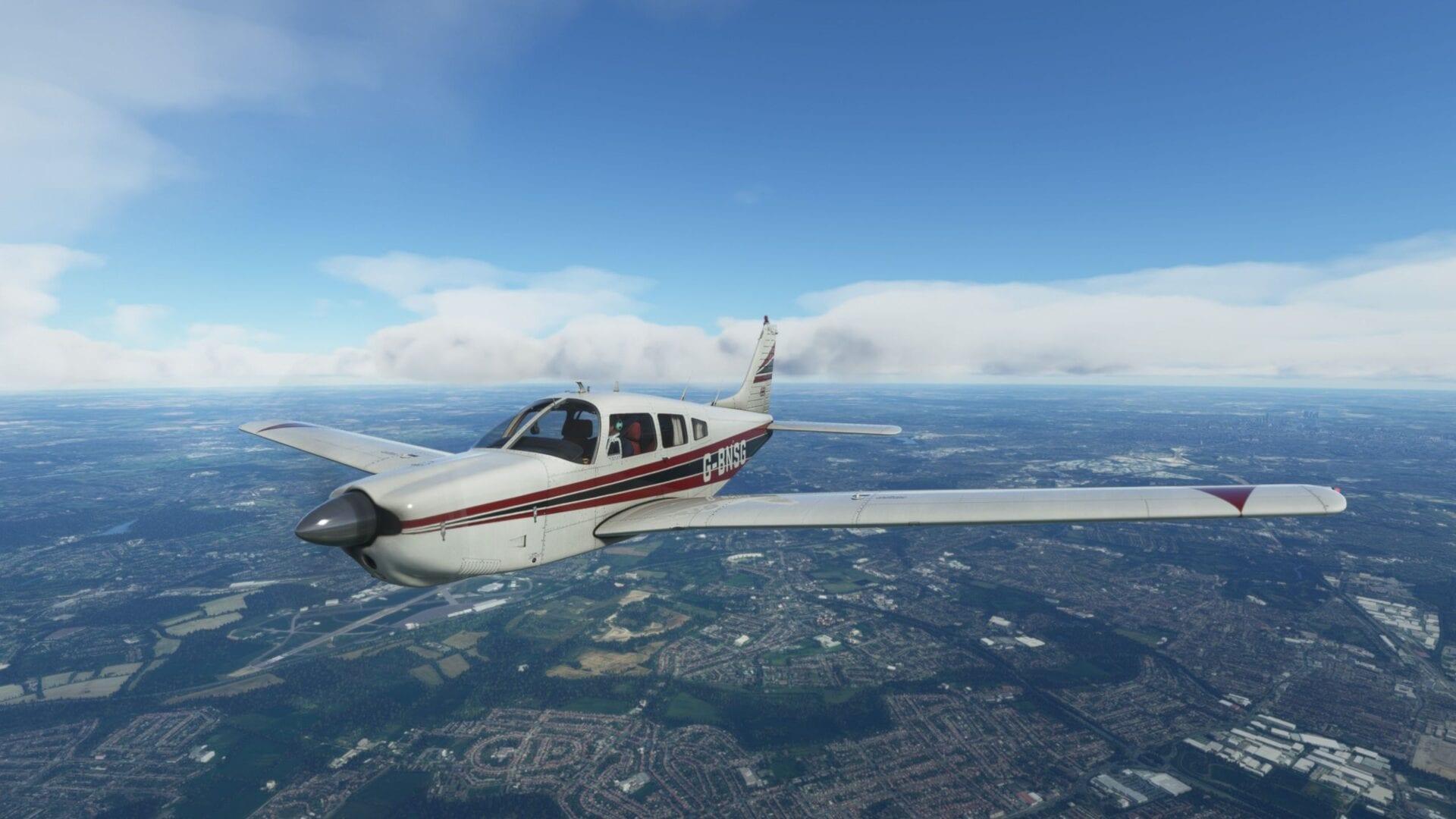 PA-28R Arrow III for Microsoft Flight Simulator Critic Review