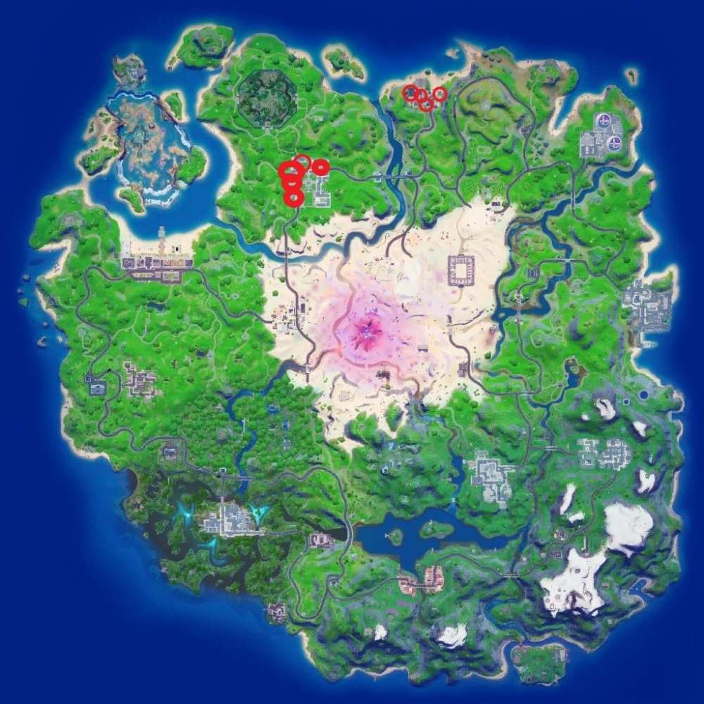 fortnite cookbooks from pleasant park and craggy cliffs