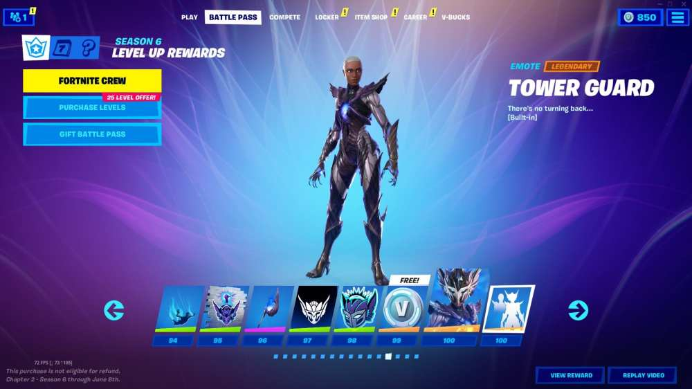 fortnite season 6 tier 100 skin