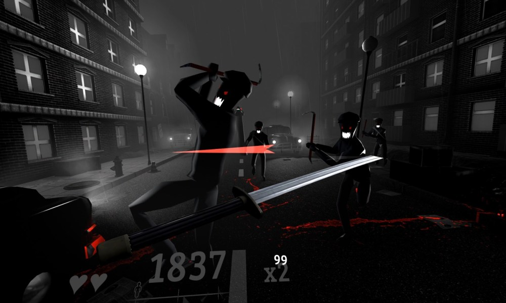 Combat Rhythm VR Game Against Is Beat Saber Meets Sin City