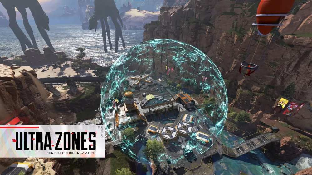 Apex Legends War Games Ultra Zones