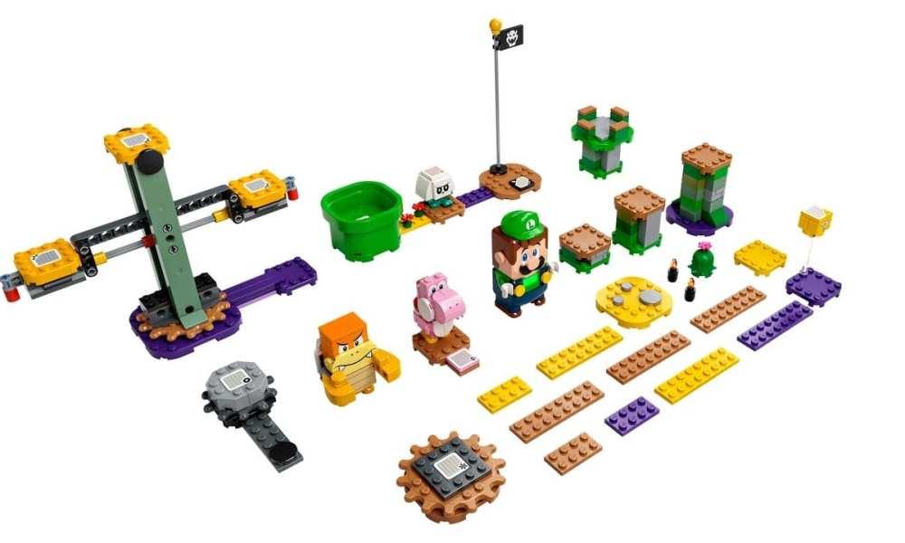 Lego Gives Luigi His Own Super Mario Starter Set