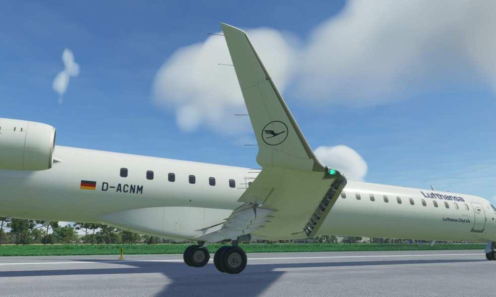 Microsoft Flight Simulator CRJ 900, Twin Otter, Spitfire Mk 1a, & Seneca Get New Screenshots