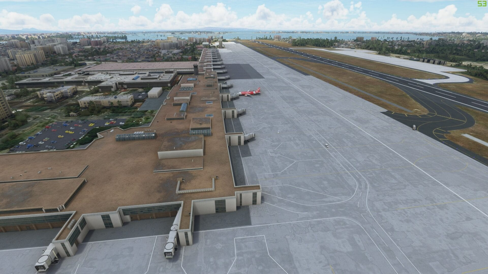 Microsoft Flight Simulator Bali Airport Review