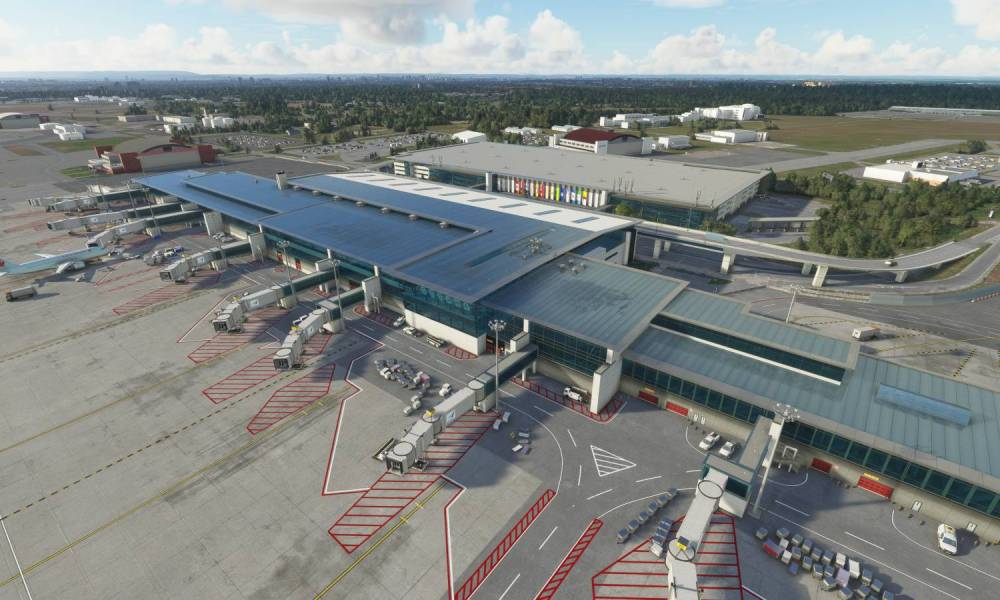 Microsoft Flight Simulator Ottawa International Airport Released; Moscow & Okegawa Get New Screenshots
