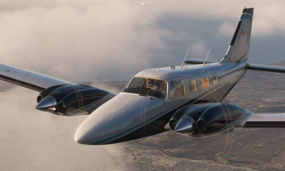 Microsoft Flight Simulator PA34T Seneca Announced; Palma De Mallorca, Frankfurt, & More Get New Screenshots