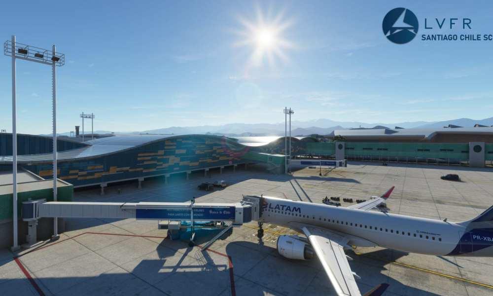 Microsoft Flight Simulator Santiago de Chile International Airport Released