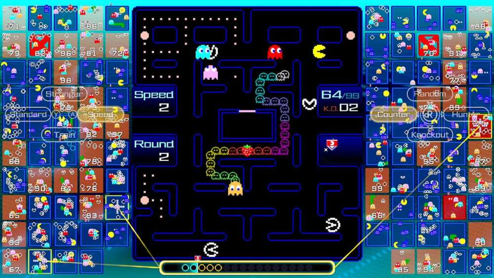 Pac-Man 99 Review - Non-Stop Fun and Intensity - Competitive action