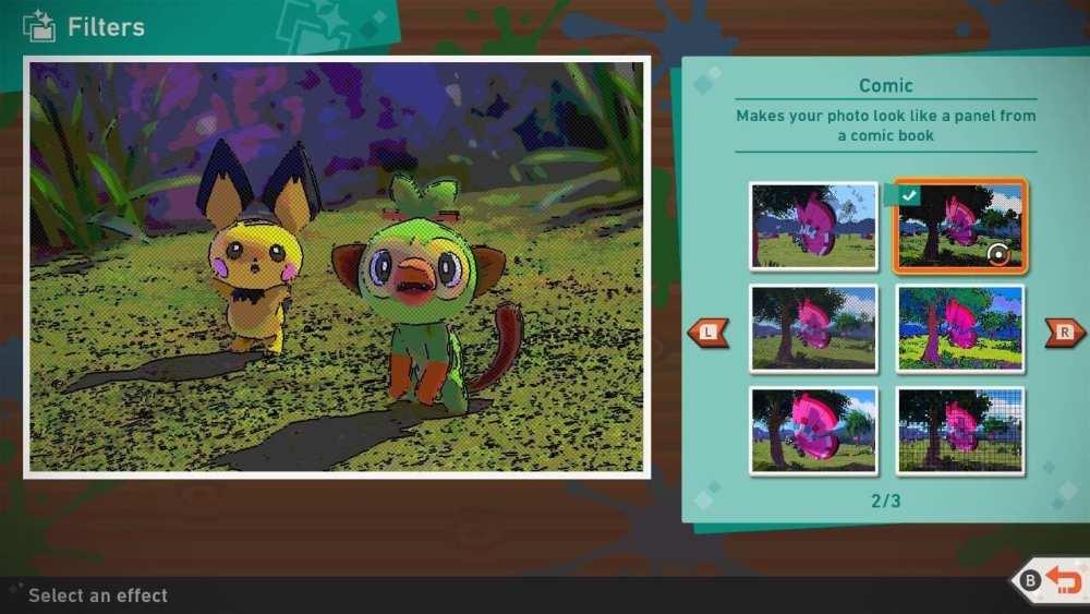 New Pokemon Snap Edit Photo