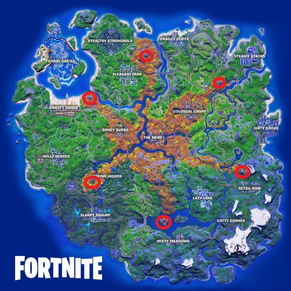 fortnite guardian outpost locations, how to play spire's message at guardian outpost
