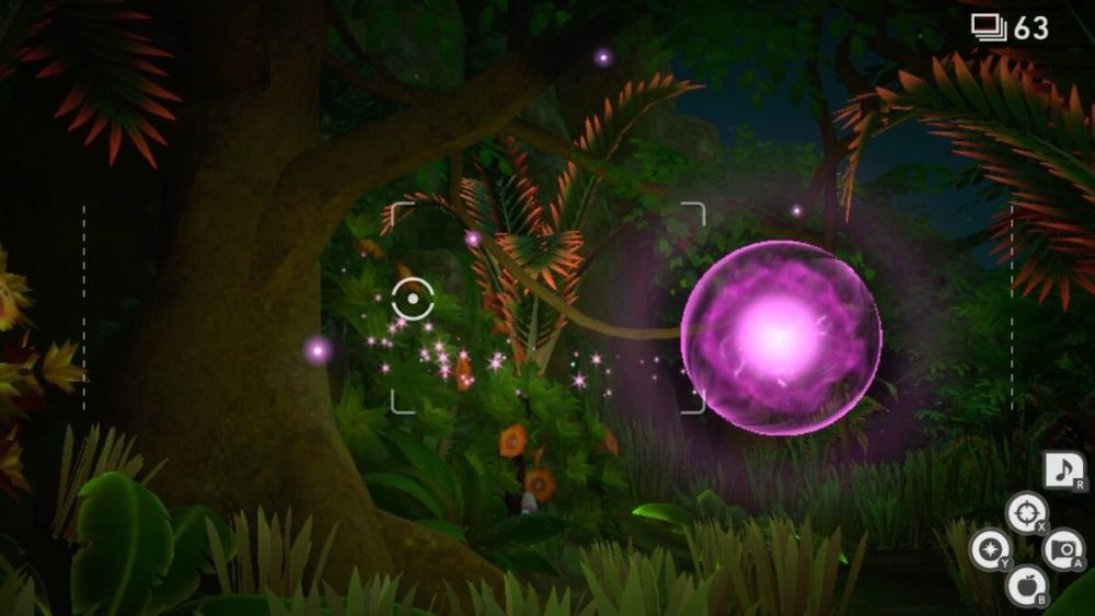 new pokemon snap mew orb