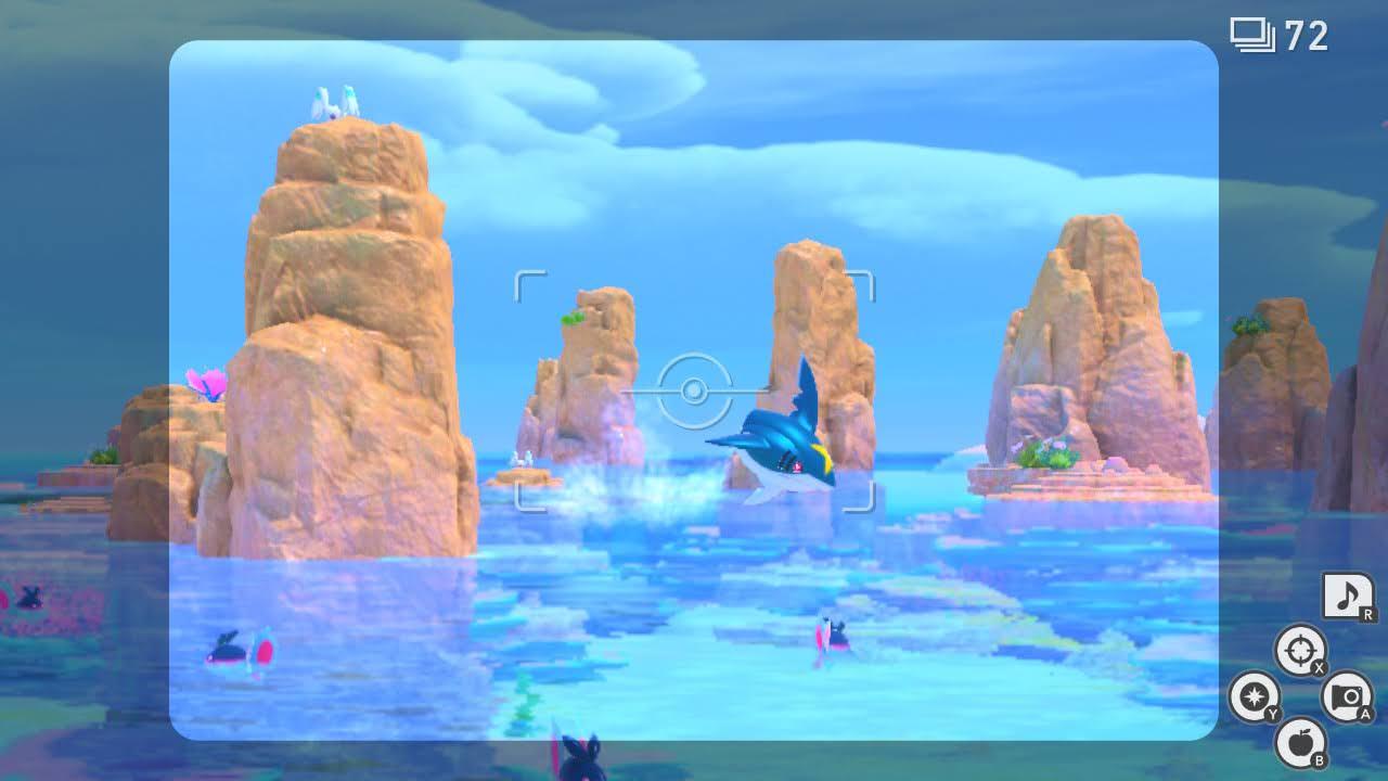 new pokemon snap reef