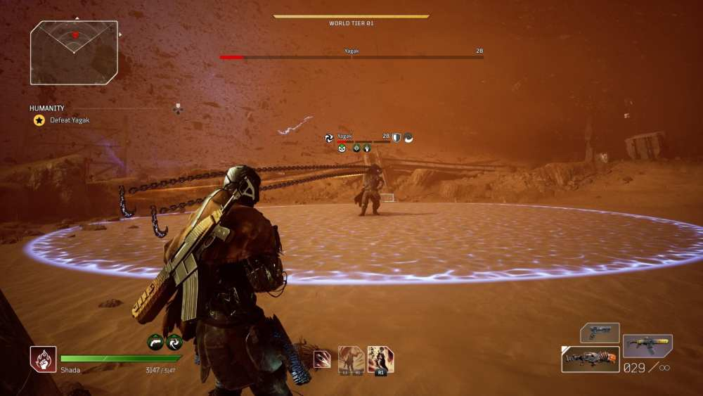 Outriders How to Beat Yagak Final Boss Fight