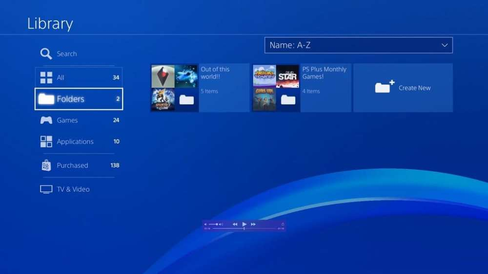 PS5 UI changes