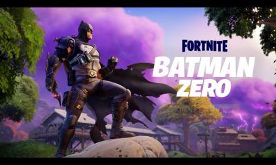 Fortnite Batman Zero official trailer snapshot