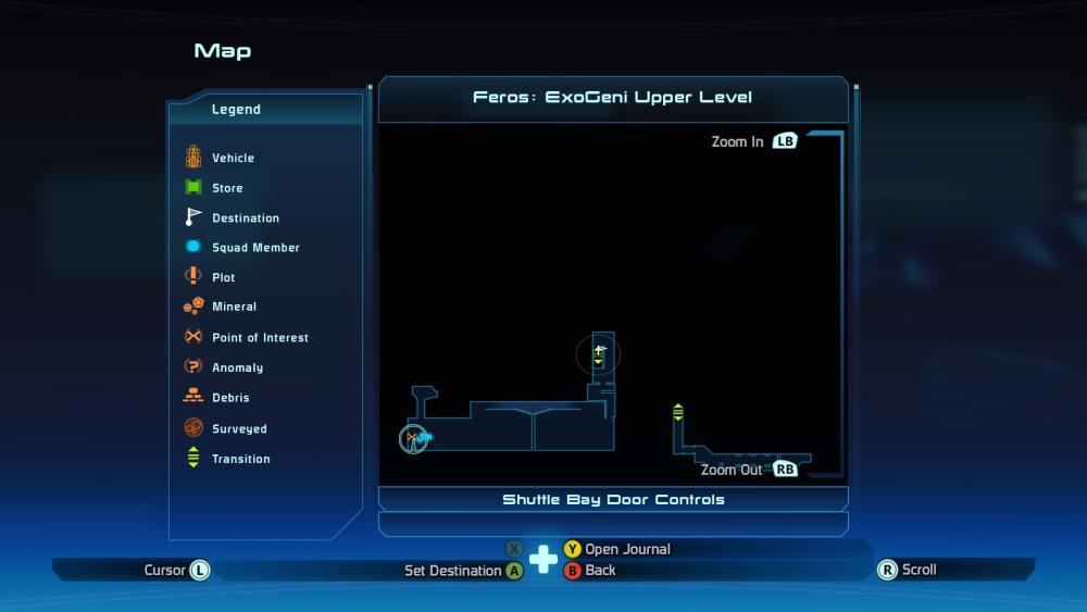 Mass Effect 1 PSI puzzle location