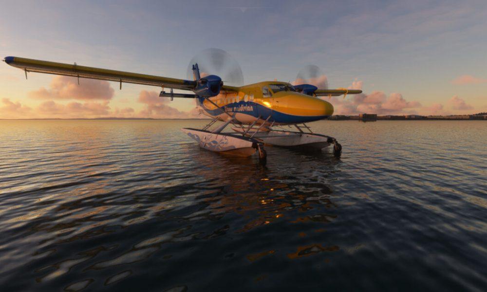 Microsoft Flight Simulator Twin Otter and Airbus A220 Get New Screenshots