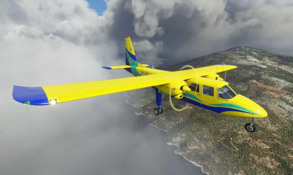 Microsoft Flight Simulator BN2 Islander Released; PA28-161 Warrior II Announced