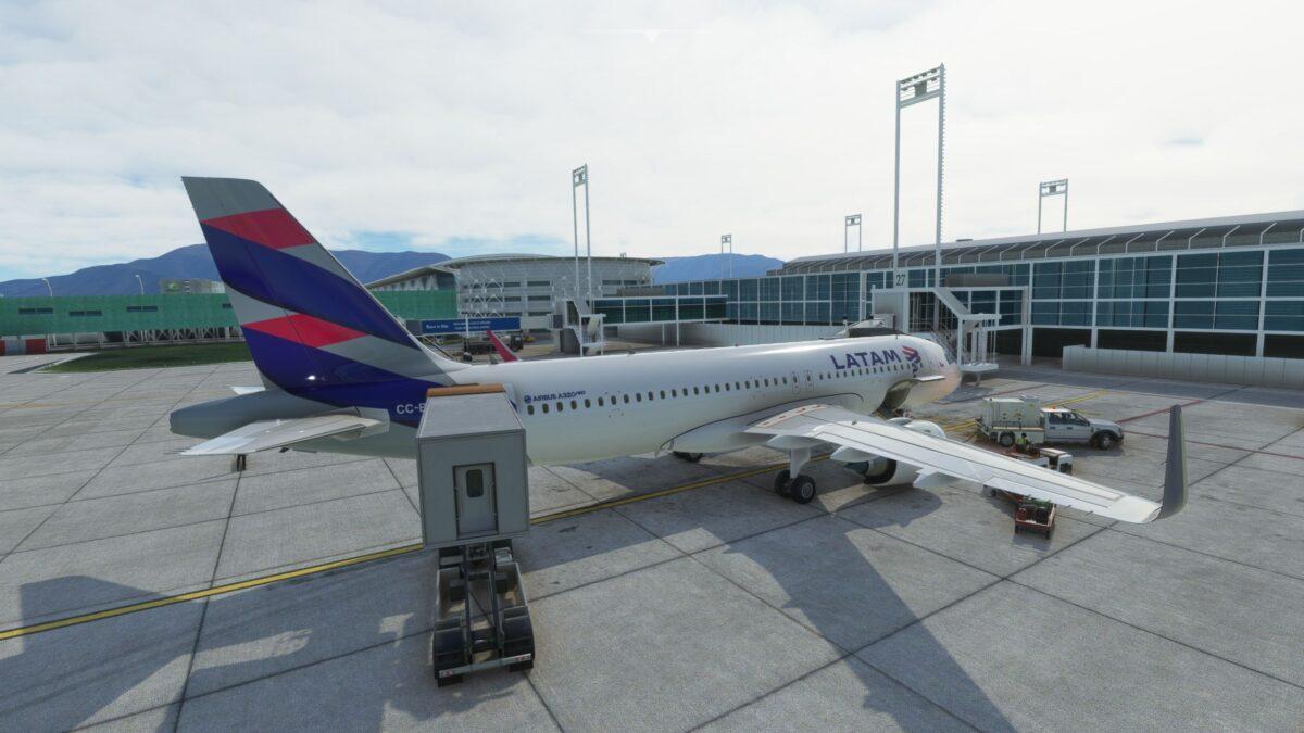 Santiago Airport for Microsoft Flight Simulator Critic Review