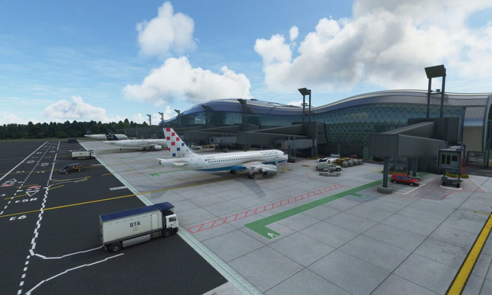 Microsoft Flight Simulator Zagreb Airport Released & Pagadan Announced; Perth Coming Next Week & F-104 Gets New Screenshots