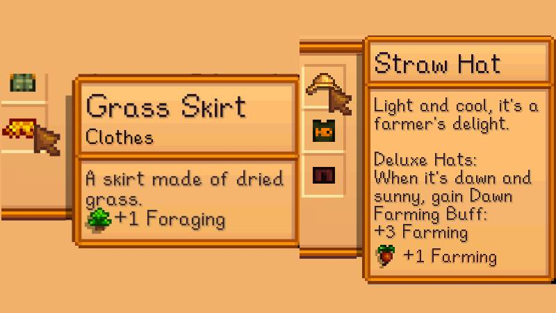 skillful clothes mod