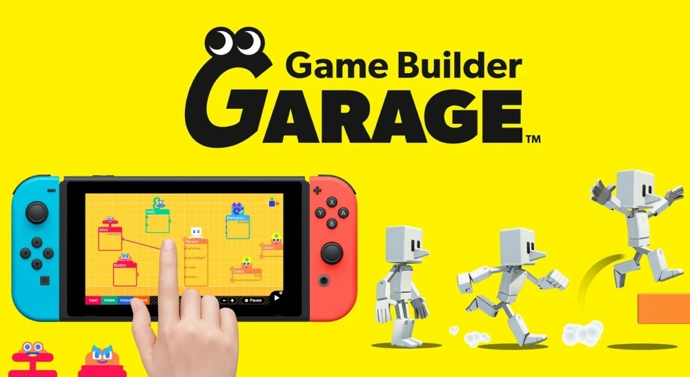 Design and Share Your Own Games With Nintendo's Game Builder Garage