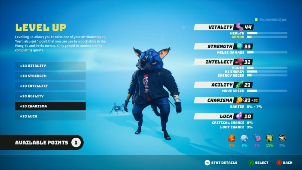 how to run faster in biomutant