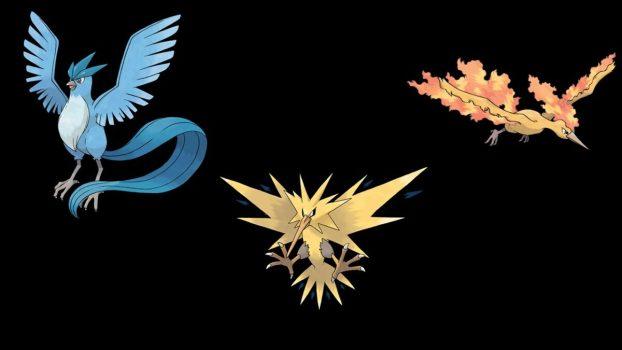 Legendary Birds (Kanto)