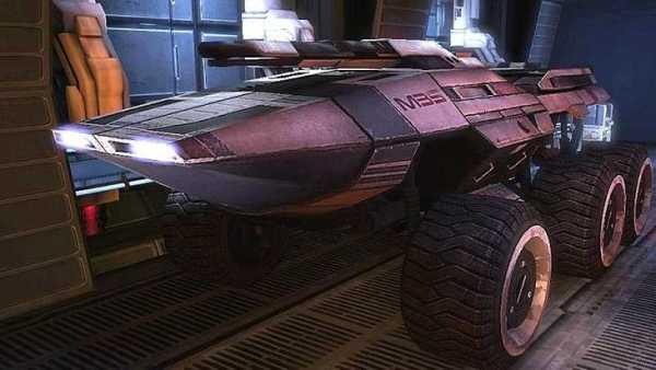 Mass Effect 1: How To Repair Mako