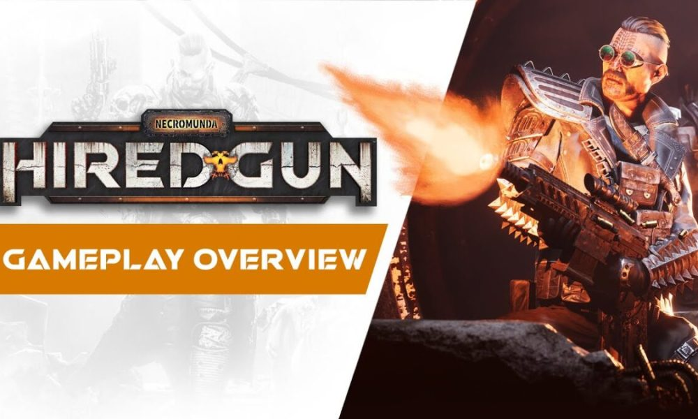 Necromunda: Hired Gun Continues to Look Impressive in New Gameplay Overview Trailer