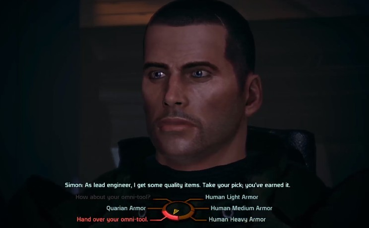 Where to Get Quarian Armor, Mass Effect LE