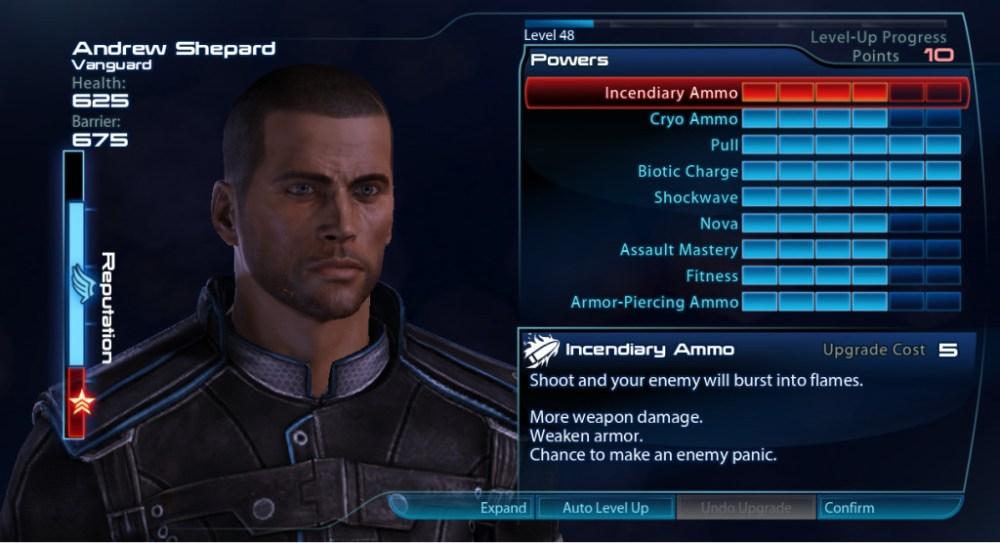 Mass Effect 3 Reputation