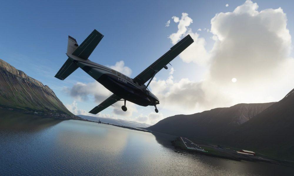 Microsoft Flight Simulator Spotlight Landing Challenge Brings You to Iceland's Most Dangerous Airport