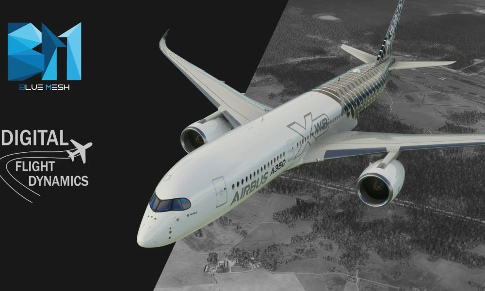 Microsoft Flight Simulator Gets Free Iceland Mesh; Freeware Airbus A350, Cessna 170B, & Okegawa Airfield Get New Screenshots & Trailer