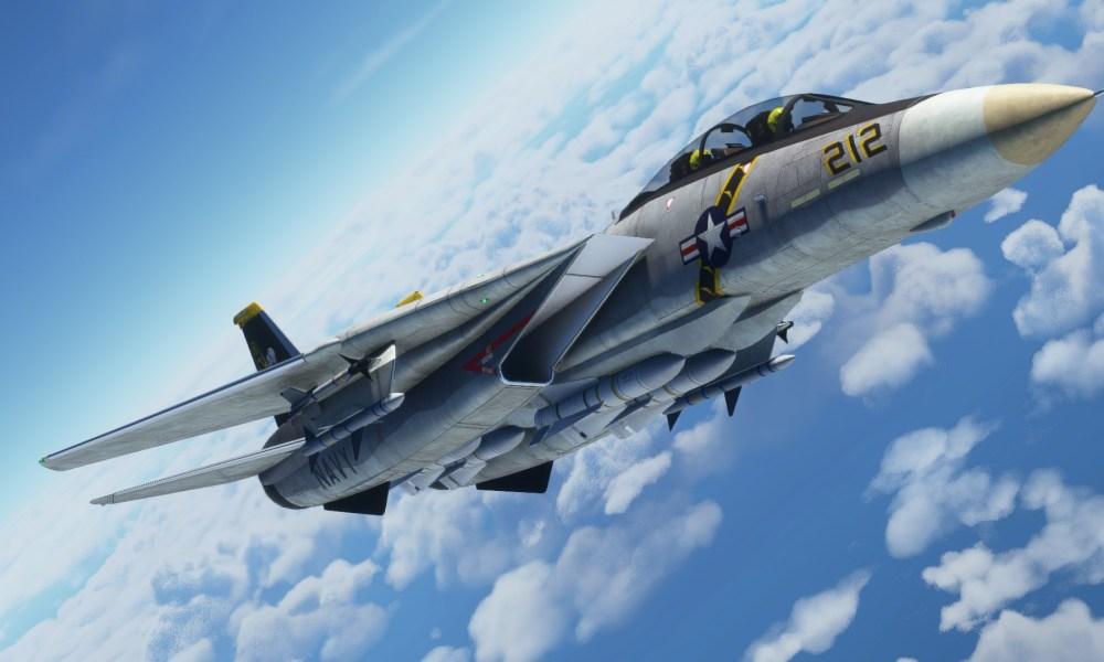 Microsoft Flight Simulator F-14 Tomcat, Arrow II, and Halifax Stanfield Airport Get New Screenshots