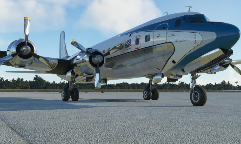 Microsoft Flight Simulator Douglas DC-6 Released by PMDG; Pricing Revealed