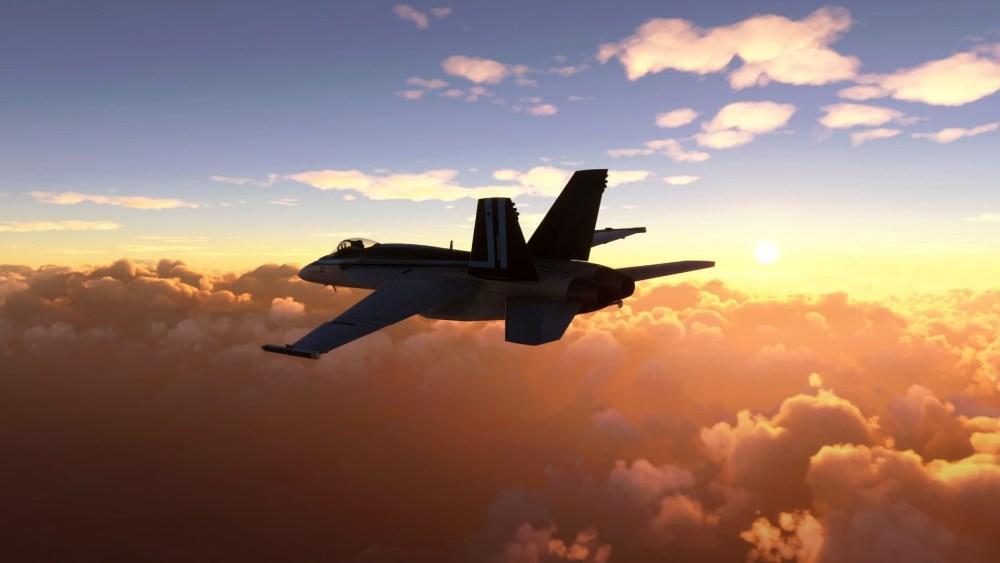 Microsoft Flight Simulator Top Gun Maverick