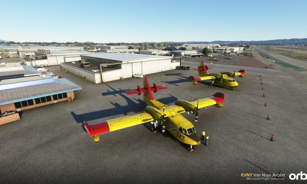 Microsoft Flight Simulator Van Nuys & Isle Of Man Airports Showcased With New Screenshots