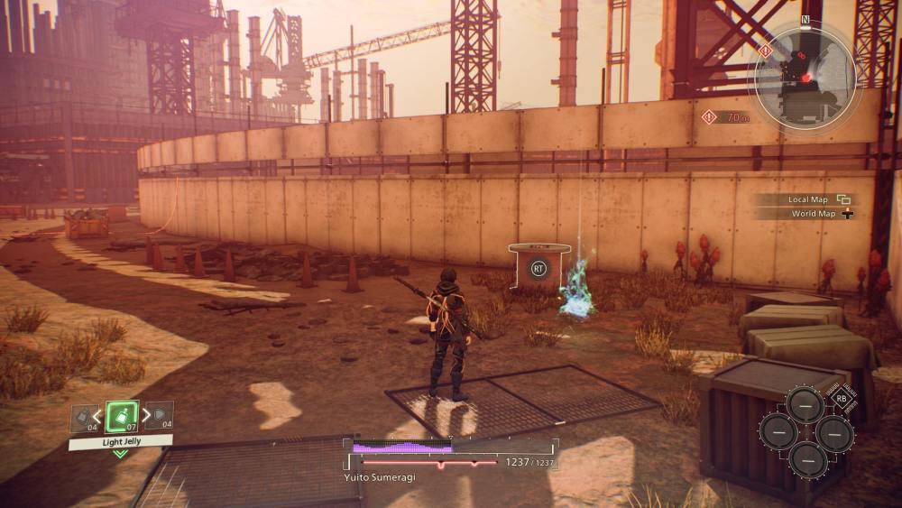 Scarlet Nexus Environment Data