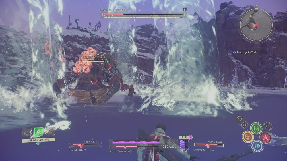 Scarlet Nexus Coil Moil Boss