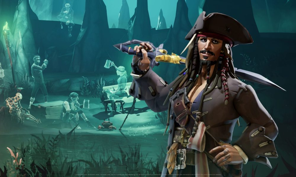 Sea of Thieves' Pirates of The Caribbean Crossover Looks Awesome; Take a Look at This Extended Video