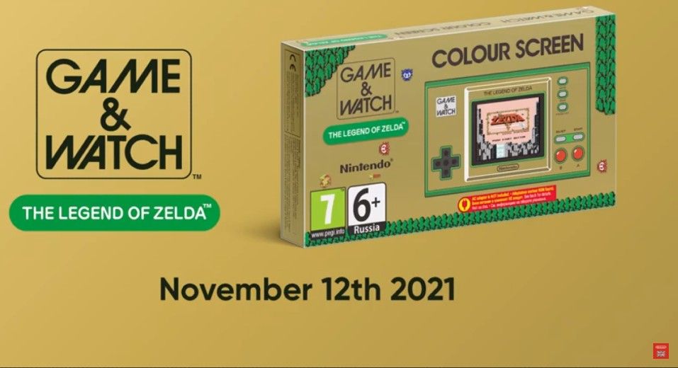 Game & Watch: The Legend of Zelda Releases This November