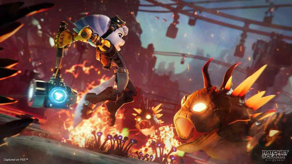 Ratchet & Clank Rift Apart How to Melee