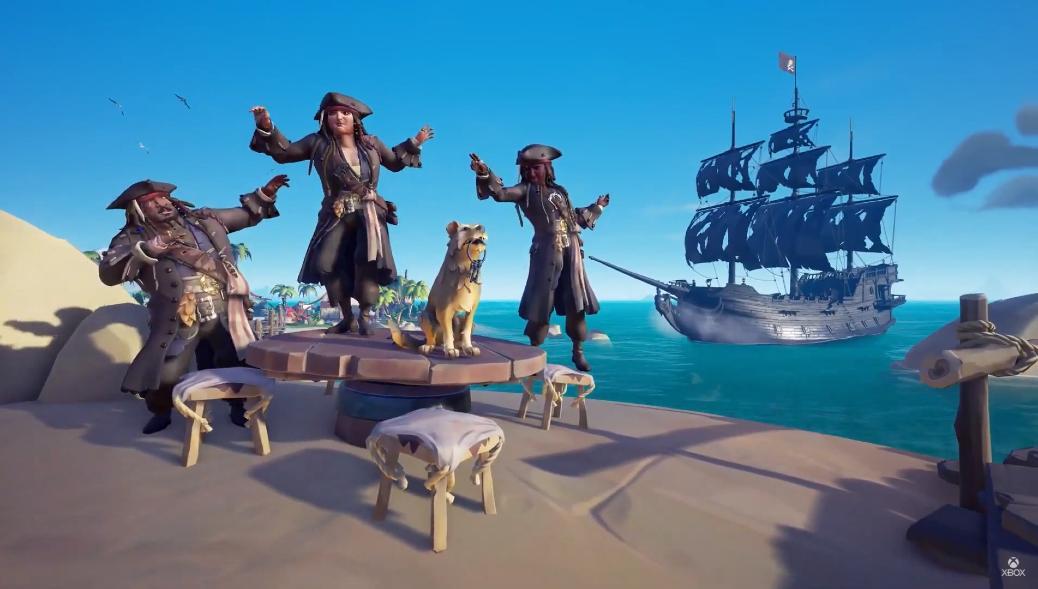 В трейлере игрового процесса Sea of Thieves: A Pirate's Life рассказывается о новой косметике, врагах и локациях