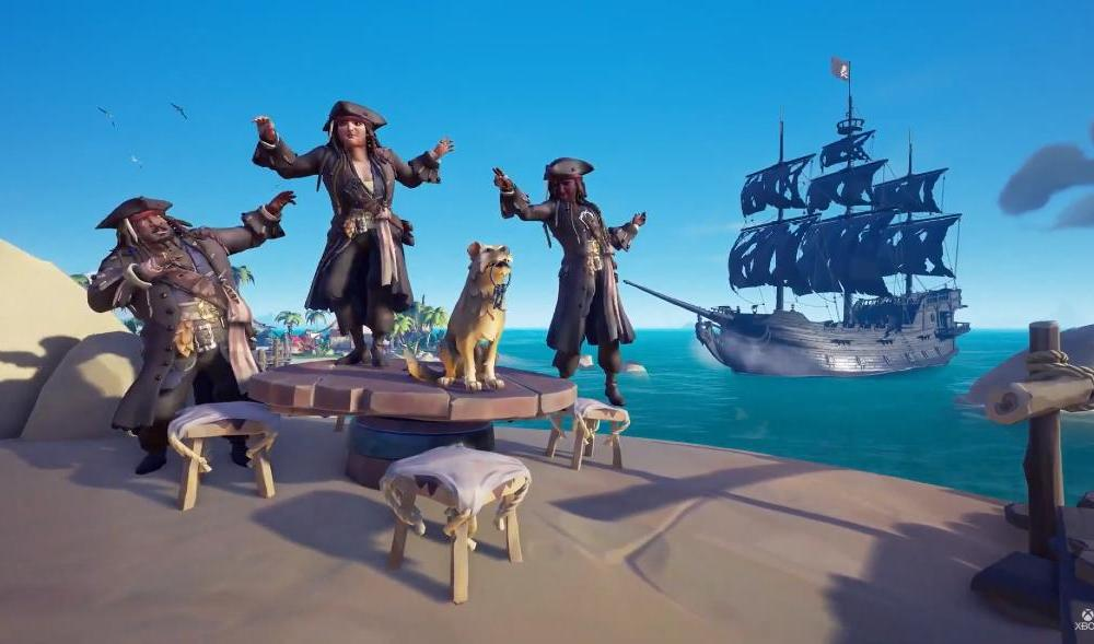 Sea of Thieves: A Pirate's Life Gameplay Trailer Shows off New Cosmetics, Enemies, & Locations